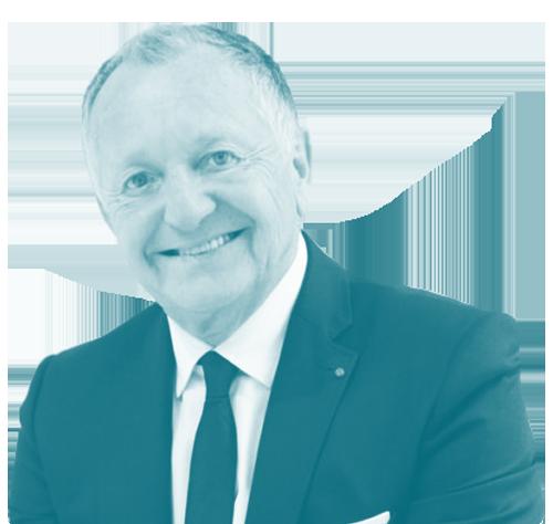 Jean-Michel Aulas président directeur général ol group