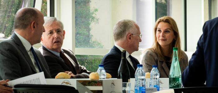 conférence de presse osons la confluence entre humanisme et innovation